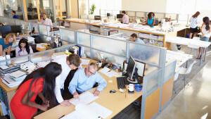 Header - Busy Office